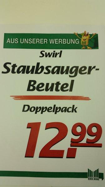 [Lokal Marktkauf Voerde] Swirl Doppelpack Staubsaugerbeutel (M50 , M40 , PH86 , S67)