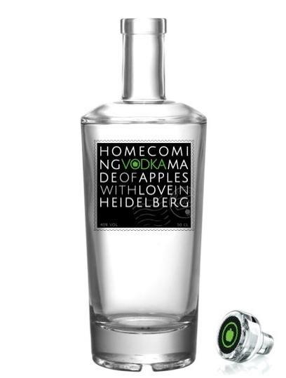 Handcrafted Premium Vodka aus Heidelberg VERSANDKOSTENFREI