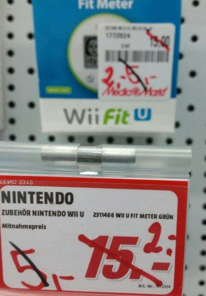 "Wii U FitMeter in Grün ""MM Wiesbaden"""