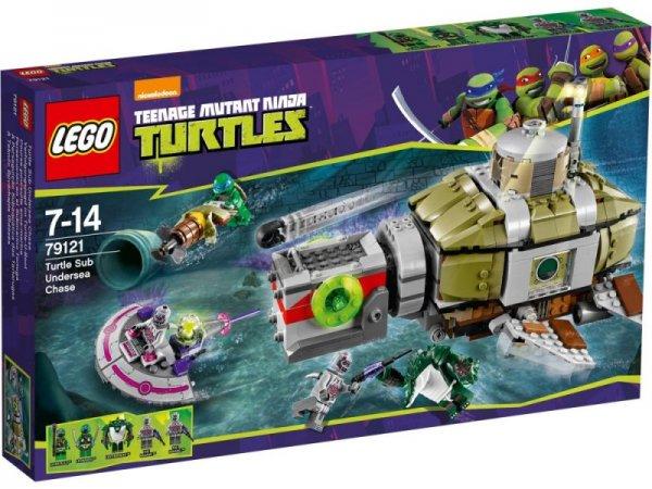 LEGO Turtles 79121 Verfolgungsjagd Turtle-U-Boot, bei SpieleMax.de, 42,95€