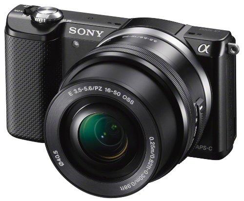 Sony Alpha 5000 schwarz inkl. SEL-P1650 Objektiv (ILCE-5000LB) für 282,65 € @Amazon.co.uk