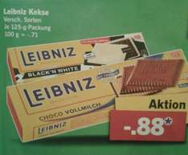[LIDL] Leibniz Kekse 0,88€ ..evtl Coffee-to-go Becher Gratis dazu* (*ab 5 Produkten)