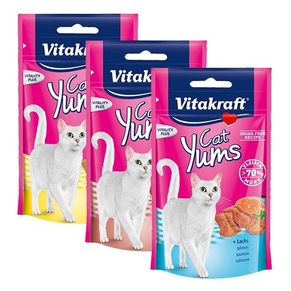 [Scondoo / Raiffeisen-Markt] 3x Cat Yums 0,03€ Gewinn
