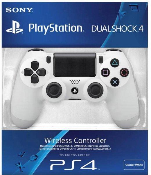 PS4 Dualshock 4 Wireless Controller weiß für 47,44 € inkl. Versand bei Voelkner