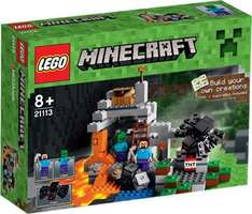 Intertoys Online Lego Minecraft 21113 Die Höhle - The Cave (lieferbar) für 19,94€