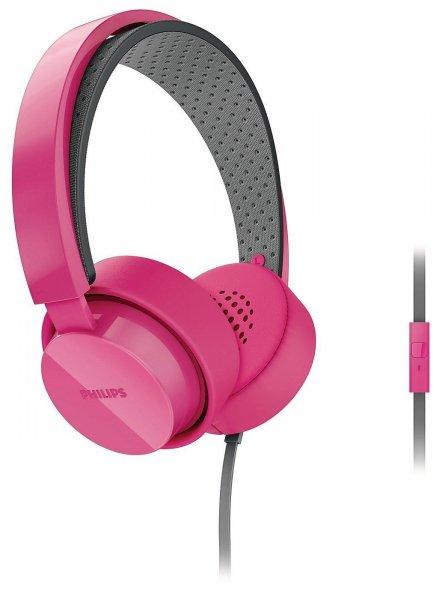 PHILIPS CitiScape Kopfhörer SHL5205PK pink mit Mikrofon @eBay 11,11 Euro