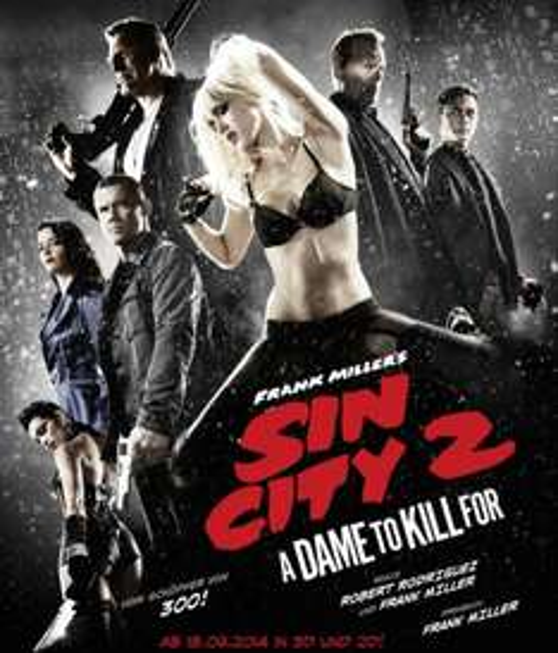 """[Müller DE + AT] 2€ Rabatt auf DVD oder Blu-Ray """"Sin City 2"""""""