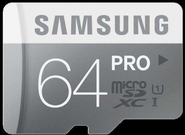 Samsung microSDXC Pro 64GB
