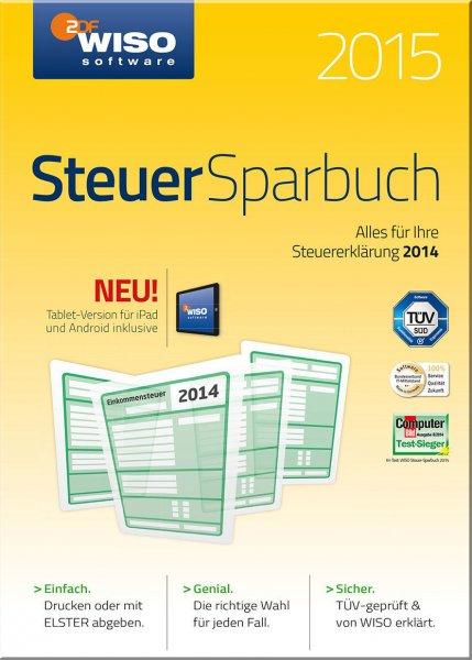 WISO Steuer-Sparbuch 2015 Box für 19,99€! [Update 3]