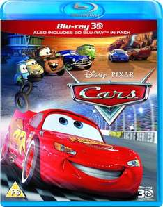 Jeweils Cars / Cars 2 / Planes (3D BluRay) (Amazon.de)
