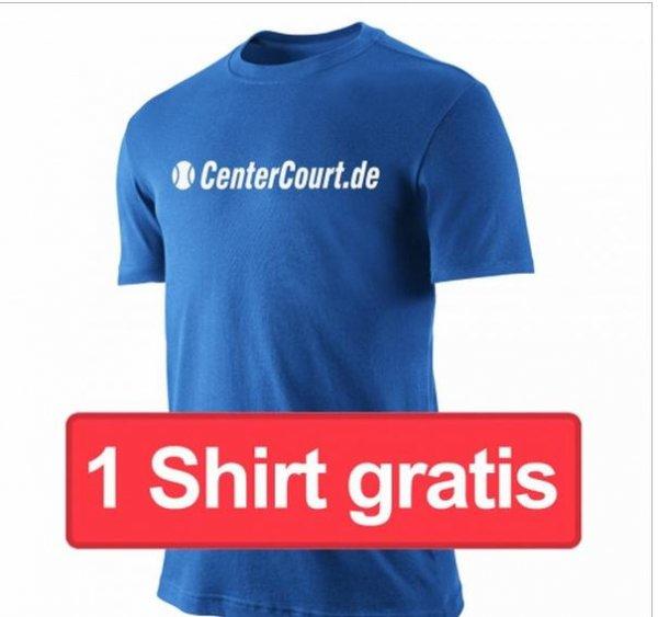 [CenterCourt.de] Gratis T-Shirt (Versandkosten von € 3,95)