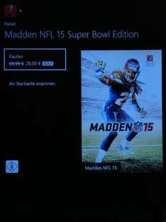 Madden NFL 15 SuperBowl Edition Xbox One