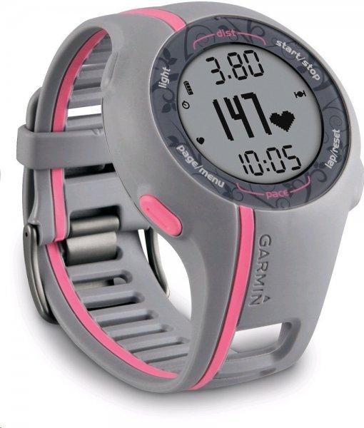 Garmin GPS Laufuhr Forerunner 110 W - Damen GPS Trainingscomputer inkl. Brustgurt für 99€ @Amazon.de