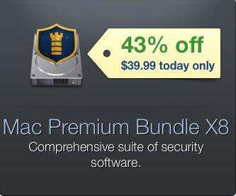 (MAC) MacUpdate Mac Premium Bundle X8 mit 5 Security Apps für nur 35,67€ – 43% Ersparnis