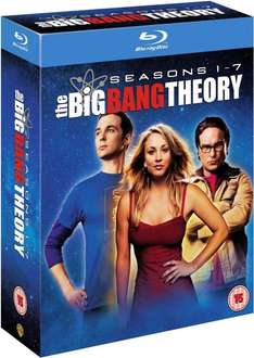The Big Bang Theory Seasons 1-7 Blu-Ray [O-Ton] @amazon.co.uk