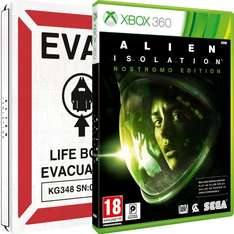Alien: Isolation - Nostromo Steelbook (Xbox 360) für 22,62€ @Amazon.co.uk