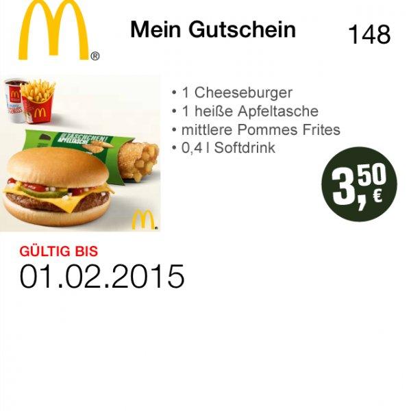 McDonald's Gutschein [3,50€]