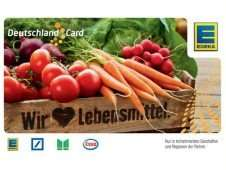Edeka (Nordbayern) und DeutschlandCard viele Extrapunkte diese Woche mit Coupons kombinieren