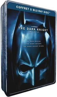 The Dark Knight Trilogy im Metalcase [Blu-ray] für 15,95€ @Amazon.fr