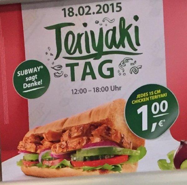 Teriyaki Tag 1€ in Esslingen 18.02.