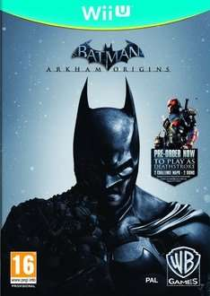 Batman: Arkham Origins Wii U für 10,31€ @ thegamecollection via rakuten.co.uk