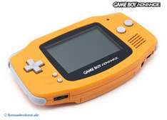 (Konsolenkost) Nintendo Gameboy Advance Orange (JAP Import) für Retro-Fans