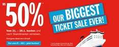 BIGGEST TICKET SALE bei Stena Line