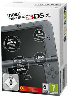 New Nintendo 3DS XL Metallic Black/Blue für 185,88€ inkl. Versand @amazon.fr vorbestellen