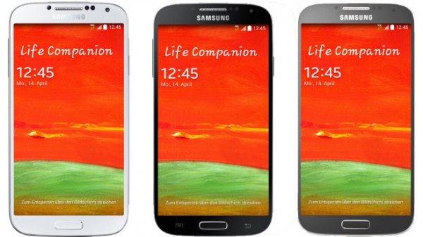 Samsung Galaxy S4 Smartphone Weiß, Silber oder Schwarz für 269€ bei Saturn