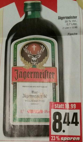 [Lokal Edeka Hessenring] Jägermeister 0,7l für nur 8,44 Euro