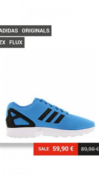 Sidestep Adidas zx flux
