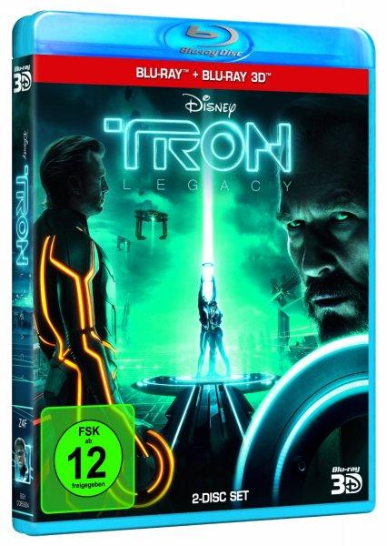 [Amazon.de] TRON: Legacy (Blu-ray + Blu-ray 3D) für 13,99€
