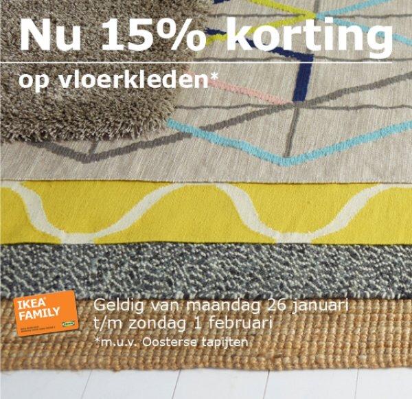 (IKEA NL, Grenzgänger) 15% auf alle Teppiche bei Ikea in Holland für Family-Mitglieder zB Örsted
