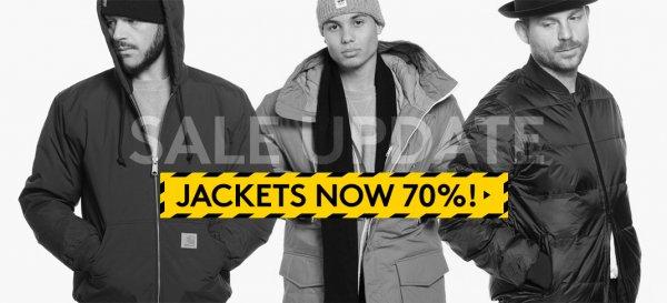 Jacken Sale - teilweise richtig gute Preise @caliroots