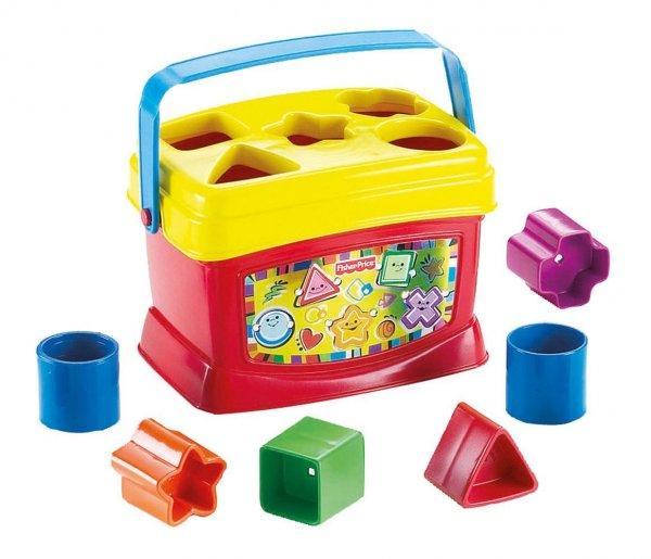 Mattel Fisher-Price K7167 - Babys erste Bausteine, Formensortierspiel 5,99€ mit Prime