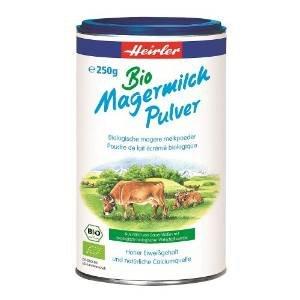 [Bei Amazon]Heirler Bio Magermilchpulver 250 gr,nur 7,15 Euro, kostenlose Lieferung.