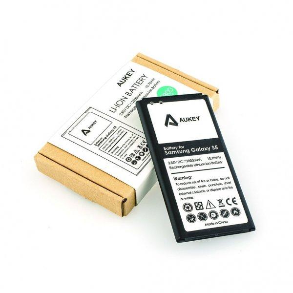 [Bei Amazon.de] 2800mAh Li-ion Akku für Samsung S5 mit NFC Funktion mit Code für 6,99 Euro, 6 Euro sparen