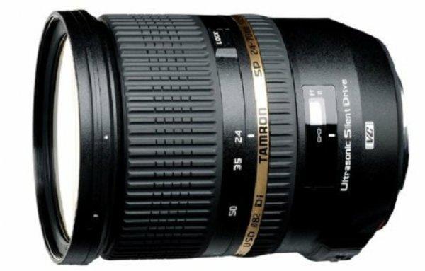 Tamron Weitwinkelobjektiv 24-70mm F/2,8 mit Bildstabilisator, USD-Motor und Spritzwasserschutz für Canon @Amazon Blitzangebote