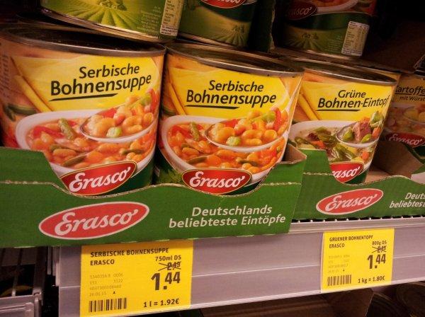 [REWE] Erasco Eintöpfe für 1.44€ / Stück!