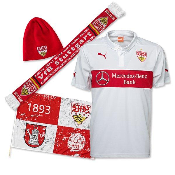 Matchpaket zum Rückrundenauftakt vom VfB Suttgart für Erwachsene - 74,90 inkl. Versand € statt 119,80 €
