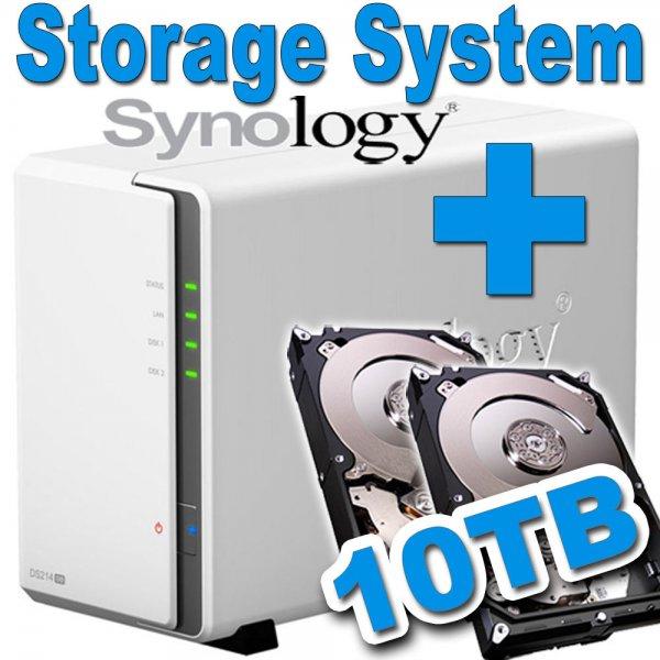 10TB Synology Disk Station NAS DS214sw LAN - 526,50 EUR @ ebay