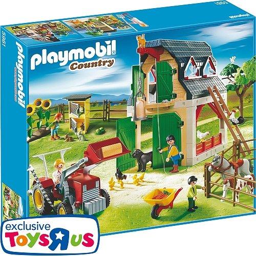 PLAYMOBIL - Bauernhof mit Zubehör -5961- 27% Ersparnis @toysrus