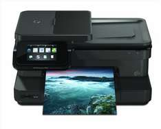 amazon.de Blitzangebote mit Cashback - HP Photosmart 7520 e-All-in-One Tintenstrahl Multifunktionsdrucker (A4, Drucker, Scanner, Kopierer, Wlan, USB, 9600x2400)