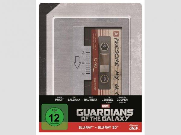 Mediamartk - Guardians of the Galaxy 2D & 3D Steelbook