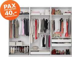 ikea family pax pro meter aktion 40 eur pro meter kleiderschrank. Black Bedroom Furniture Sets. Home Design Ideas