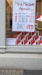 Hardware Abverkauf Vodafone Shop @Bahnhofsstraße Erfurt