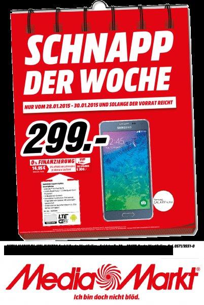 [Lokal Media Markt Porta Westfalica] Samsung Galaxy Alpha 32GB alle Farben - Versand möglich!