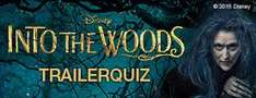"30 Disney Movies and More Punkte im ""Into the Woods"" Trailerquiz"