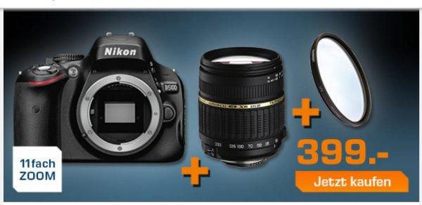 Nikon  D5100 + Tamron 18-200mm + Tamron UV-Filter 62mm
