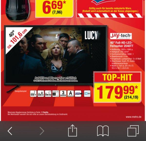 "jayTech 40"" LCD 1080p"